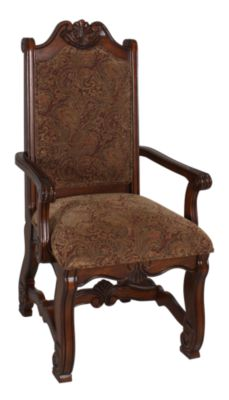 Crown Mark Neo Renaissance Upholstered Arm Chair