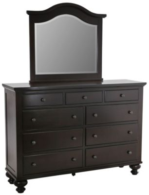 Crown Mark Sommer Dresser with Mirror