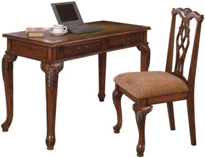 Crown Mark Fairfax Writing Desk & Chair