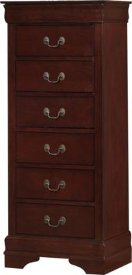 Crown Mark Louis Philippe Cherry Lingerie Chest