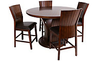 Crown Mark Daria Counter Table & 4 Stools
