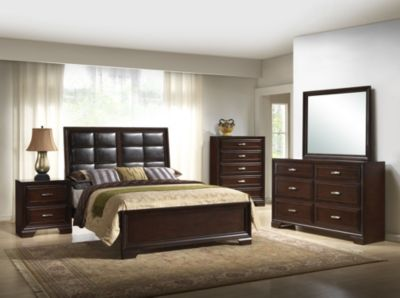 Crown Mark Jacob 4-Piece King Bedroom Set