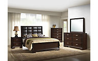 Crown Mark Jacob 4-Piece Queen Bedroom Set