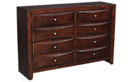 Crown Mark Emily Shaped Front Dresser