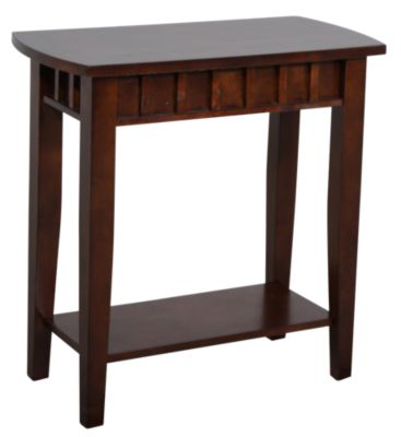 Crown Mark Dentil Chairside Table