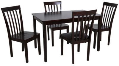 Crown Mark Brody Table & 4 Chairs