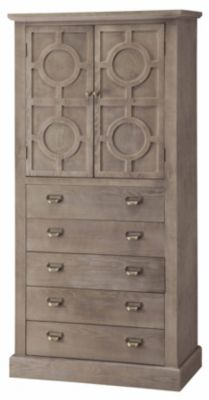 Crestview Providence 5-Drawer Cabinet