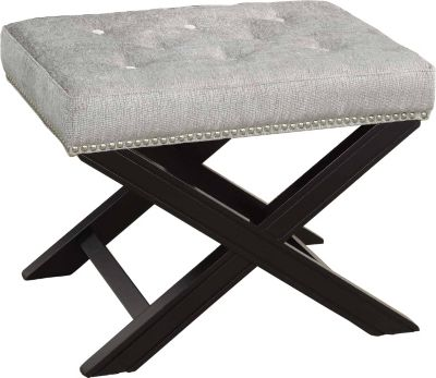 Crestview Fifth Ave Nailhead Stool