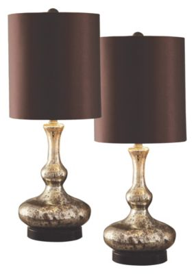 Crestview Sovereign Table Lamps (Set of 2)