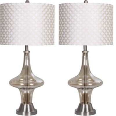 Crestview Leighton Table Lamps (Set of 2)