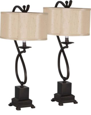 Crestview Echo Table Lamps (Set of 2)