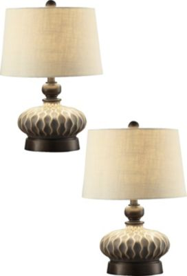 Crestview Providence Table Lamps (Set of 2)