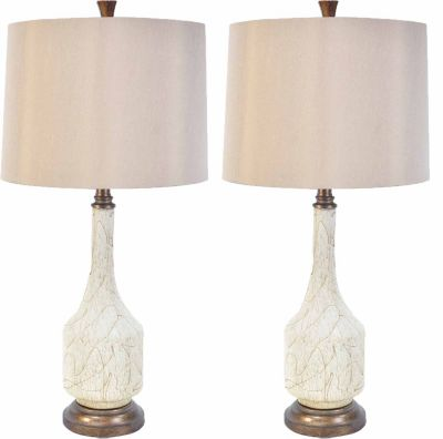 Crestview Cressida Table Lamps (Set of 2)