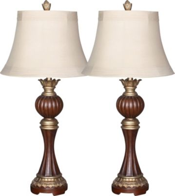 Crestview Bailey Table Lamps (Set of 2)