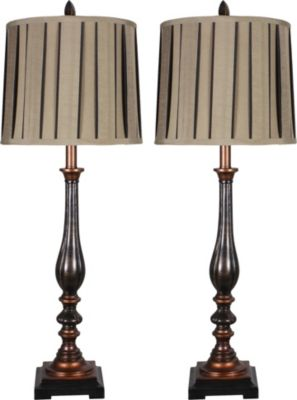 Crestview Briston Buffet Lamps (Set of 2)