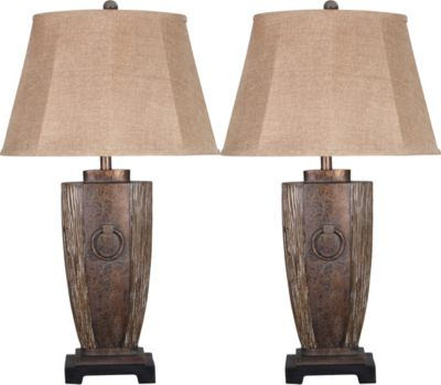 Crestview Fairview Table Lamps (Set of 2)