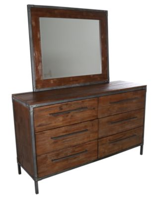 Coaster Arcadia Dresser with Mirror