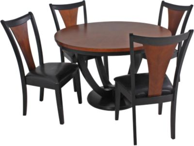 Coaster Boyer Table & 4 Chairs