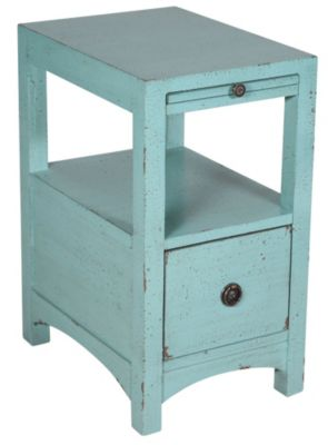 Coast To Coast Chairside Chest Accent Table