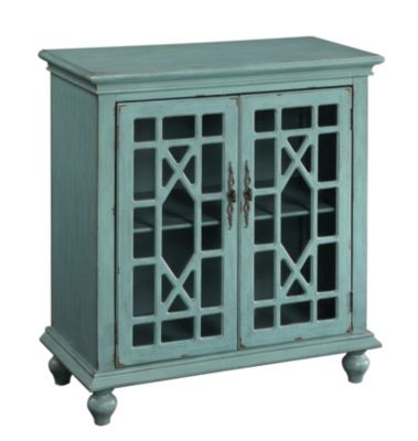 Coast To Coast Blue 2-Door Cabinet