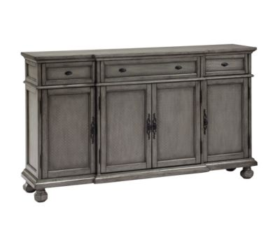 Coast To Coast 3-Drawer & 4-Door Credenza