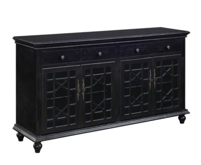 Coast To Coast 4-Drawer 4-Door Credenza