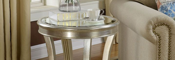 console and accent tables
