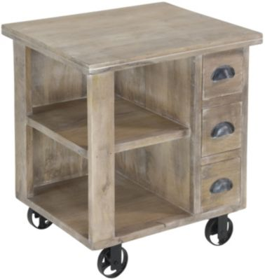 Coast To Coast Trolley Accent Table