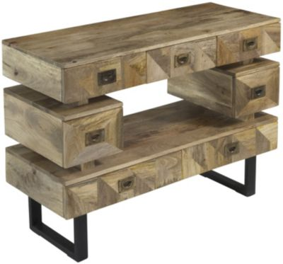 Coast To Coast 7-Drawer Console
