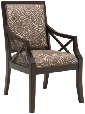 Coast To Coast Accent Collection Square Animal Print Accent Chair