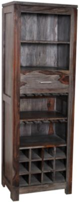 Coast To Coast Accessories Wine Center Bookcase
