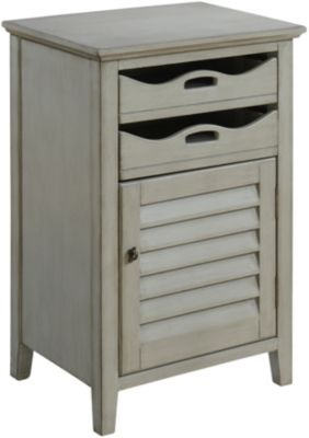 Coast To Coast Magruder Gray Accent Cabinet
