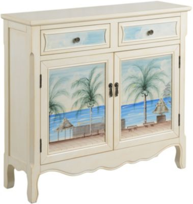Coast To Coast Key Largo Accent Cabinet