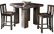 Coast To Coast Grayson Pub Table & 2 Stools