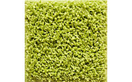 Central Oriental Vista Shag Lime 5' x 7'