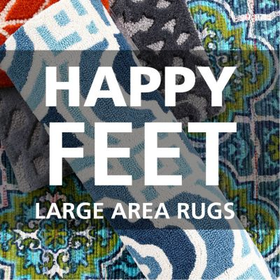 Happy Feet: Large area rugs