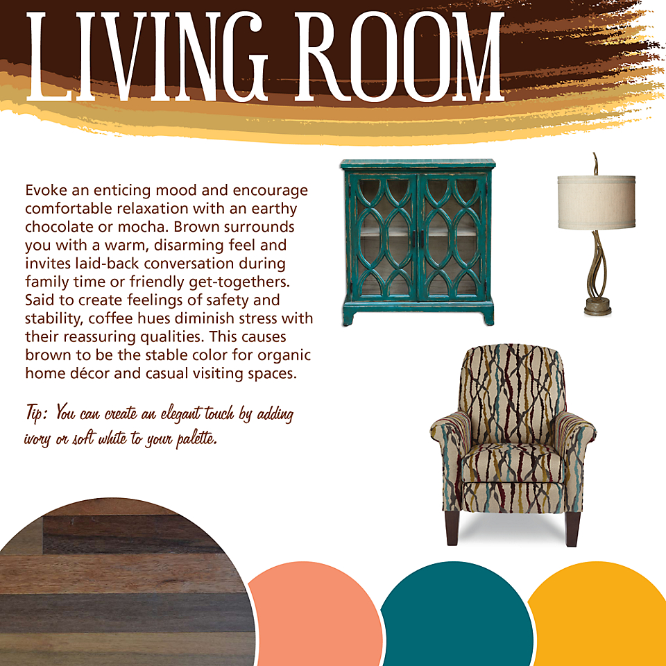 Living Room Color Theory