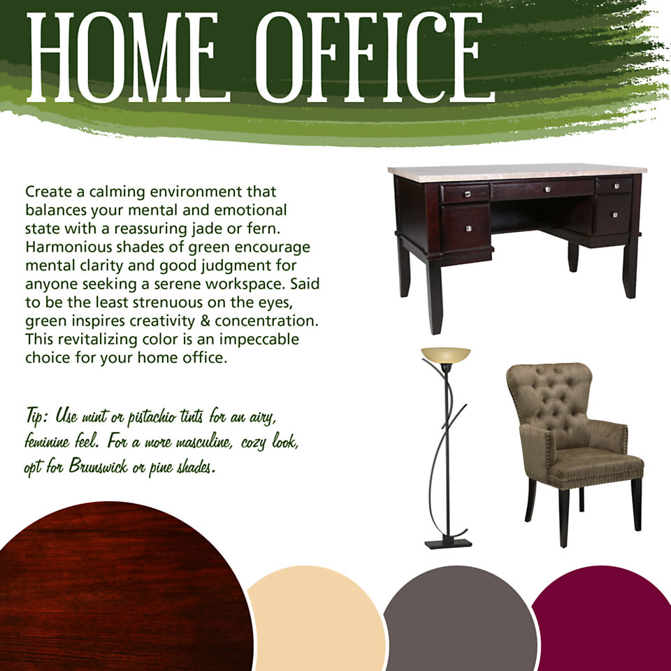 Home Office Color Theory