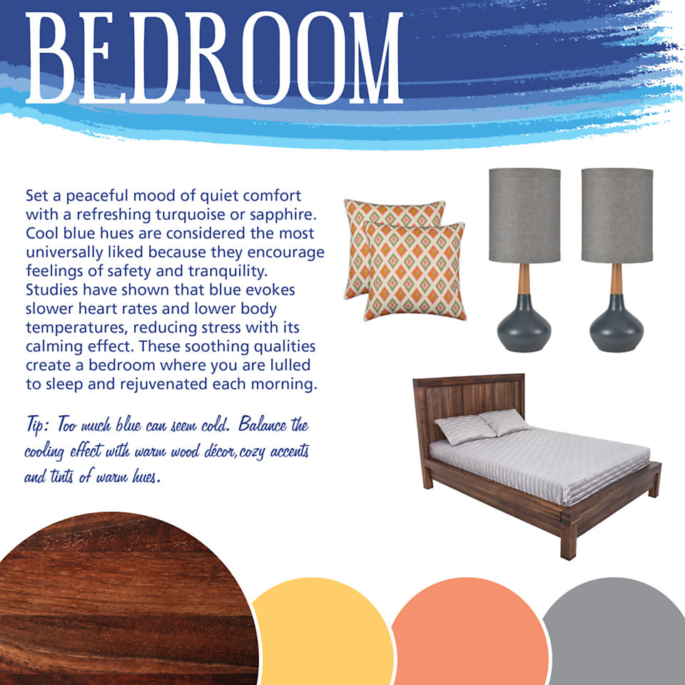 Bedroom Color Theory