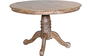 Dovetail Francisco Pedestal Table