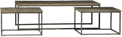 Dovetail Douglas 3-Piece Coffee Table