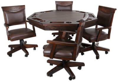 E.C.I. Gettysburg Game Table & 4 Chairs