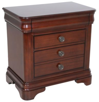 Elements International Group Cameron Nightstand: elements cameron bedroom set