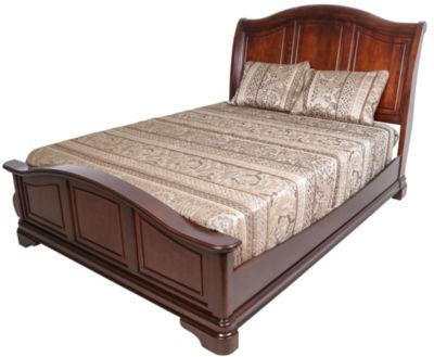 Elements international group cameron king bed homemakers furniture Elements cameron bedroom set