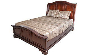 Elements International Group Cameron King Bed