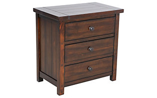 Elements International Group Dawson Creek Nightstand