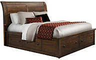 Elements International Group Dawson Creek Queen Storage Bed