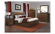 Elements International Group Dawson Creek 4-Piece King Storage Bedroom Set