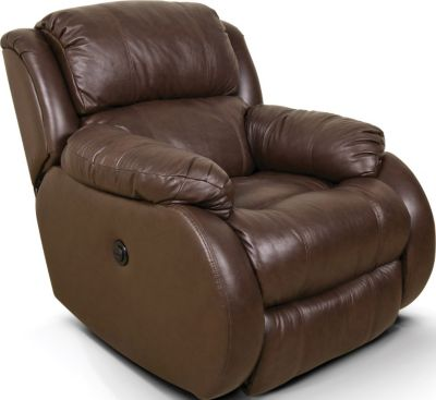 England Litton Leather Power Wall Recliner
