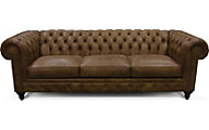 England Lucy 100% Leather Sofa